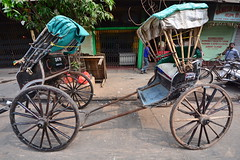India - West Bengal - Kolkata - Pulled Pulled Rickshaw - 77 (asienman) Tags: india kolkata westbengal cyclerickshaws asienmanphotography pulledrickshaws