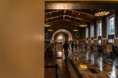Union Station in the early evening light (neilw12) Tags: losangeles streetphotography unionstation share littletokyo