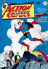 Action Comics #120 (1948) Cover by Wayne Boring (Tom Simpson) Tags: art 1948 illustration comics design comic superman cover comicbook actioncomics comicbookcover wayneboring