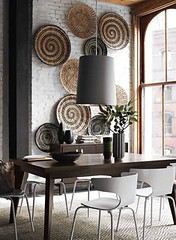 Inspiring Basket Art Walls (decoracy) Tags: basket walls inspiring