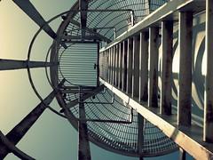 Isolation (pietschy.de) Tags: old bridge tower water metal marina boot israel boat rust wasser mediterranean ship alt rusted isolation turm rost verrostet metall  schiff steg herzliya mittelmeer            pietschyde stefaniepietschmann