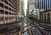 Chicago Loop (Ken Yuel Photography) Tags: chicago transit theloop chicagoloop railtracks chicagotransitauthority mykindoftown windycity elevatedtrains ilovechicago chicagolandmarks fujicameras chicagoicons xe2 looptracks kenyuel chicagoshots fujixe2