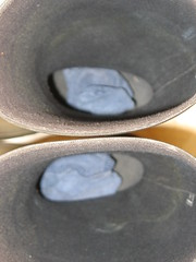 Im Treppenhaus bei Freunden_2 (yvonne_2.0) Tags: wet socks welly wellies smelly galoshes rubberboots gummistiefel gumboots nass laarzen strümpfe gummistövlar