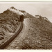 Snowdon Summit- vintage real photo postcard