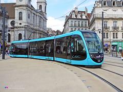 CAF Urbos 3 - Ginko 803 2 (Pi Eye) Tags: ctb tram streetcar caf ginko strassenbahn besanon urbos
