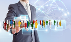 businessman connect to social network (spark_ideas) Tags: world people italy businessman modern digital computer circle team community media technology hand map touch internet group meeting social icon screen chain communication business online networking network contact concept job connection connect connecting interaction