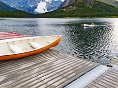 Late Arrival (Jackpicks) Tags: lake montana glaciernationalpark manyglacierhotel