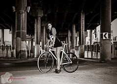 08312014 49a HDR BW1a (Anarchivist Digital Photography) Tags: blackandwhite colorado models fixies