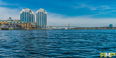 Purdys Towers and MacDonald Bridge OP (Rodney Hickey Photography) Tags: ocean city canada architecture photoshop landscape bedford nikon novascotia harbour ns sigma atlantic adobe portraiture nikkor halifax dartmouth sackville lightroom adobecs nikkorlens d600 lowersackville sigmalens adobecreativesuite d7100 middlesackville rhds rodneyhickey wwwrhdsca httpwwwrhdsca rodneyhickeyphotographyanddesign rodneyhickeyphotographydesign rodneyhickeyphotography