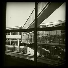 Van Nelle factory Rotterdam II (bjdewagenaar) Tags: bw zwartwit zwart wit hipstamatic