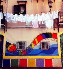 Palermo 2014 (themancos) Tags: sicilia sicily bucato murales palermo laundry