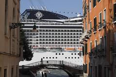 Cruise ship in Venice (Philippe POUVREAU) Tags: cruise venice italy italia ship harbour cruiseship venise venezia italie msc dorsoduro 2014 navire venicelagoon paquebot msccruises msccruise giudeccacanal canaldelagiudecca canon7d cruiseshipvenice mscpreziosa