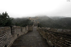 Great Wall Rainy (Flolevoyageur) Tags: voyage china travel asia roadtrip asie chine