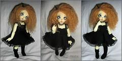 Littlefee Luna (Mientsje) Tags: cute gothic luna wig mohair bjd fairyland yosd littlefee