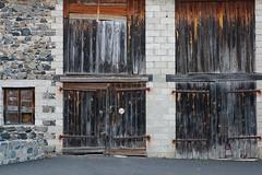 Portes de grange (Nicolas -) Tags: door wood old window stone wall barn pierre porte mur grange bois fenetre vieille nicolasthomas