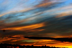 9846 2014July25 Georgian Bay night (virginiascottphotos) Tags: sunset sky cloud night clouds evening sonnenuntergang sundown georgianbay wolke nuage coucherdesoleil commentbygwlap