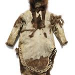 Pels til kvinde fra inuit i Nordalaska - Woman's parka from Inuit in northern Alaska thumbnail