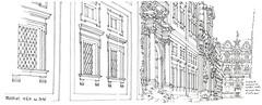 Trapani (gerard michel) Tags: italia sicilia trapani rue architecture baroque sketch croquis