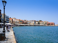 Chania old venetian harbour