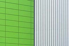 Green and grey wall (Jan van der Wolf) Tags: map161233v abstract lines lijnen lijnenspel interplayoflines playoflines green groen grey grijs wall muur geometric geometry minimalism minimalistic minimalisme