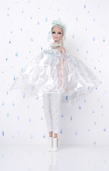 Rainy_day_01s (doll_enthusiast) Tags: barbie mattel dolls doll collecting photography fashion basics mackie face sculpt blonde