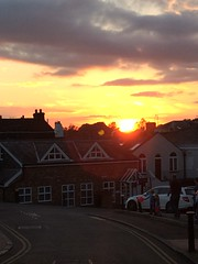 Sunset (My photos live here) Tags: mount sion royal tunbridge wells kent england village buildings sun sunset sky evening dusk