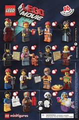 Collectible Minifigures The LEGO Movie (AB Quest) Tags: lego collectible minifigures
