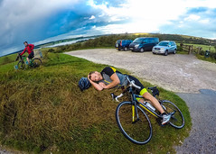 Cycling is hard (Fraser Charrett-Dykes) Tags: gopro hero 4 cycling east sussex south downs national park way