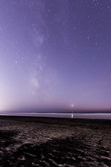 Fading Milky Way Over Torrey Pines State Beach (slworking2) Tags: sandiego california unitedstates us torreypinesstatebeach torreypines beach californiastateparks milkyway pacific ocean