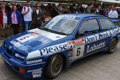 1989 Ford Sierra Cosworth RS500 (Crackers250) Tags: 2016 goodwood festivalofspeed fos hillclimb motorsport racing car ford sierra cosworth rs500 timharvey btcc britishtouringcarchampionship touringcar