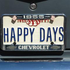 HAPPY FAYS (Bob Kolton Photography) Tags: automotive autos automobiles antique bobkoltonphotography biloxi cars car classic classiccars canong1x cruisinthecoast hdr hotcars licenseplates plates tags