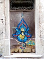 "Porta do ""Gaiola"" (rgrant_97) Tags: portugal coiimbra autumn outuno sabado saturday streetart graffiti gaiola"