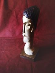 Afrodita II (Oscar Omar) Tags: tallado madera arte artista uruguayo afrodita diosa olimpo escultura busto wood carving oscaromar