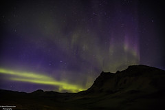 The Sky Dancer (Gemma - A Passionate Photographer) Tags: auroraborealis thenorthernlights vik village iceland