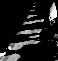(a filter) (Dinasty_Oomae) Tags: bolsey  bolseyb2 b2  blackandwhite bw monochrome outdoor  chiba   ichikawa shadow  platform