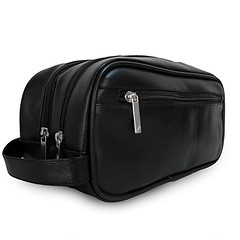 Mister Bag Leather Travel Toiletry Bag for Men or Women Waterproof. Travel Size Toiletries Bag Toilet Organizer Supply Two Compartments Perfect For Men's Travel Toiletry Bag Shaving Grooming Dopp Kit (wupplestravel) Tags: compartments dopp grooming leather mens mister organizer perfect shaving size supply toilet toiletries toiletry travel waterproof women