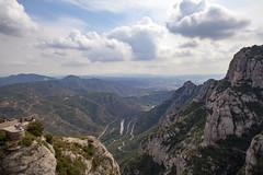 high above it all (Satirenoir) Tags: montserrat espana spain mountains monastery pyreneesmountains