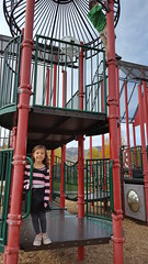 Jovie at the park (Aggiewelshes) Tags: october 2016 travel utah parkcity fall phone s6 olsen jovie playground