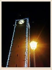 Atmosfere Trentine    -       Trentino / Italy (amos.locati) Tags: mezzolombardo trentino torre campanile tower bells italia christmas natale decorazioni natalizie luminarie notte luci light lampione lamp lumina lux italy winter time