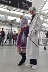 Shiro and Franken Stein (NekoJoe) Tags: comicconoctober2016 cosplay cosplayers england excelcentre frankenstein gb gbr geo:lat=5150806802 geo:lon=002600670 geotagged london londonexpooctober2016 mcm mcmlondon mcmlondoncomiccon mcmlondoncomicconoctober2016 mcmlondonexpo mcmlondonexpooctober2016 nogamenolife shiro souleater uk unitedkingdom mcmldn16