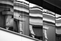 Ciudad distorsionada 5 (Eduardo Siquier Corts) Tags: edificios edificio buildings building built construccin construcciones construction constructions inmueble inmuebles reflejos reflections reflets reflects rflexion rflchi rflchies rflchir reflejo ventana ventanas windows window ventanal ventanales contrast contraste contrasts contrastes contrasts contrast ciudad ciudades city cities town towns ville villes ciutat ciutats stadt stadts citt citt albacete castilla la mancha espaa espagne espanha espanya spain spagna spagne sp blanco y negro monocromtico