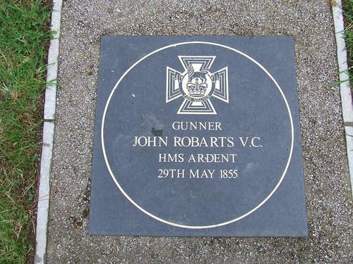 2016 # 07, John Robarts VC Memorial, Chacewater, Cornwall.