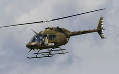 "Austrian Bell OH-58 ""Kiowa"" @ LOXZ (stecker.rene) Tags: bell oh58 oh58b kiowa 3col bundesheer austrianairforce austria helicopter rotorcraft combat minigun sky clouds flypast loxz zeltweg hinterstoisser afb airforce airbase aerialdisplay flyingdisplay airshow airpower2016 airpower16 airpower canon eos7d tamron 150600mm attack flight flying trainer"