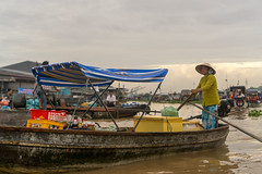 Can Tho, Vietnam (DitchTheMap) Tags: 2016 cantho food market mekongdelta seasia vietnam asia asian beautiful boat cai can culture delta east environment fishing flickr floating green indochina life lifestyle local mekong merchant occupation people poor rang river rowing ship south tho tourism tourist traditional transportation travel tropical vendor vietnamese village water woman
