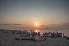 Fishing Boats and the informal market - Senga Bay Lake Malawi
