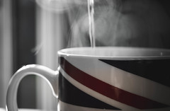 Great British Brew (NVOXVII) Tags: tea drink steam mug relax arty water boiling unionjack britain culture nikon indoor cuppa warm cosy winter november