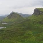 Pistes d'atterrissage pour OVNI, les Quiraings,  péninsule de Trotternish, île de Skye, Ross and Cromarty, Highland, Ecosse, Royaume-Uni. thumbnail