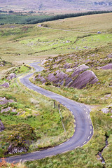 Ballaghbeama Gap mountain pass road (Joe Dunckley) Tags: ballaghbeamagap bealachbéime countykerry ireland iveraghpeninsula kerry republicofireland lane mountainpass road singletrack transport transportation
