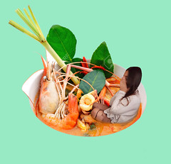 Who are you? (gracewstorey) Tags: thai food lemongrass meal lemon pepper natural spice kitchen delicious green lime leaf shrimp roasted galangal prawn vegetable recipe small taste seed vitamin nutritious shallot herb ingredient nutrition chili spicy hot