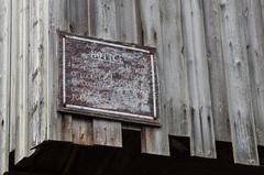 Chocolate wharf (Spannarama) Tags: canal shropshire uk shropshireunioncanal factory sign weathered worn chocolatefactory wharf history wooden boards